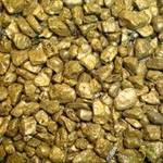 Аквагрунт цветной перламутровый золотой 3-5мм 2кг