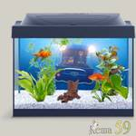 Tetra аквариумный комплекс Миньоны с LED освещением 30л