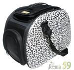 Ibiyaya складная сумка переноска для собак и кошек до 6 кг сафари