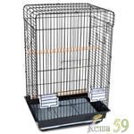 Клетка для птиц эмаль 52x41x78см
