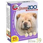 Доктор ZOO витамины для собак с лососем 90 таб.