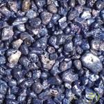 Аквагрунт цветной перламутровый синий 3-5мм 2кг