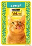 Фрискис пауч для кошек 85гр утка