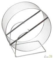 Колесо металлическое для грызунов D350 (сетка)