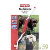 Beaphar Зубная щетка для собак двойная