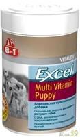 8in1 Excel Мультивитамины для щенков 100 таб.