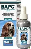 Барс инсектоакарицидный спрей для собак 200мл.