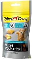 Gimdog Подушечки для собак Глюкозамин и Витамин В 45гр