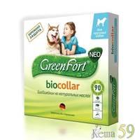 GreenFort NEO Био ошейник от эктопаразитов для крупных собак