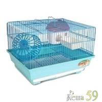 Клетка для грызунов 34.5x28x24 см