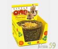 Little ONE Лакомство для грызунов Лукошко цветочное 140 гр