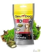 Gimdog Подушечки для собак Минералы и Витамин В 45гр.