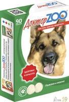 Доктор ZОО витамины для собак с протеином 90 таб.