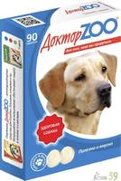 Доктор ZOO витамины для собак с морскими водорослями 90 таб.