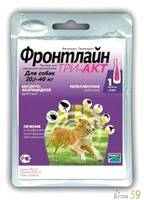 Фронтлайн Три-Акт капли на холку для собак 20-40кг 1 пипетка