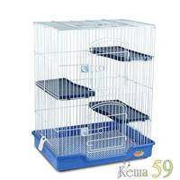 Клетка для грызунов 61x46x77 см