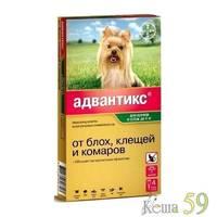Адвантикс для собак до 4 кг 1 пипетка