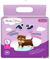 Neki Zoo пеленки для домашних животных L (60x90см), 26шт.