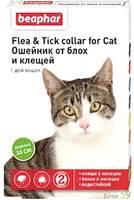 Beaphar ошейник для кошек от блох и клещей (зелёный)