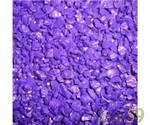 Аквагрунт цветной экстра фиолетовый 3-5мм 2кг