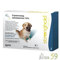 Стронгхолд капли для собак 20-40кг инсекто-акарицидные, 1 пипетка