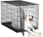 MidWest Клетка iCrate черная 122х76х84см