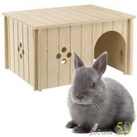 Домик для кроликов SIN4646 дерево