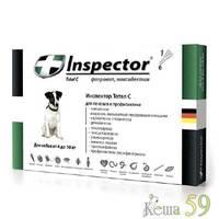 Inspector для собак 4-10кг препарат противопаразитарного действия 1 пипетка