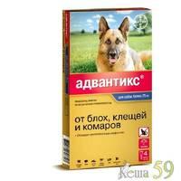 Адвантикс для собак более 25кг 1 пипетка