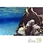 Barbus Фон аквариумный двухсторонний 60см