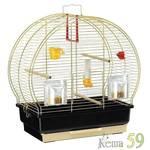 Клетка для птиц LUNA 2 золото