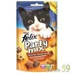 Felix Party Mix Лакомство для кошек Оригинальный микс 20г