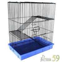 Клетка для грызунов 55,5x37x64 см