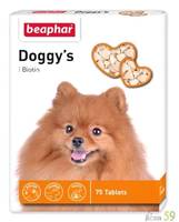 Beaphar витамины для собак Doggy`s с биотином 75 таб