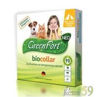 GreenFort NEO Био ошейник от эктопаразитов для мелких собак и кошек