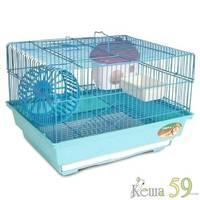 Клетка для грызунов №3304 34,5x28x24 см