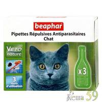 Beaphar капли на холку для кошек 1 пипетка
