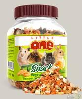 Little ONE Лакомство для грызунов Овощная смесь 150гр