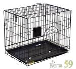 DEZZIE Вольер для животных 60x43x50см