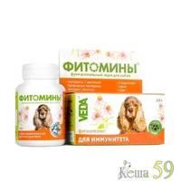 Фитомины для собак для иммунитета 100 таб.