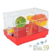 Клетка для грызунов 33x23x23 см