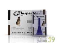 Inspector для собак 25-40кг препарат противопаразитарного действия 1 пипетка