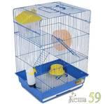 Клетка для грызунов 35x28x48см