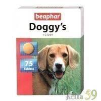 Beaphar витамины для собак с печенью 75 таб.