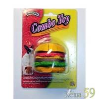 Игрушка для грызунов Гамбургер