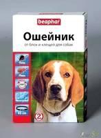 Beaphar ошейник для собак от блох и клещей