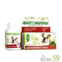 Фитомины для пожилых собак 100 таб.