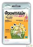 Фронтлайн Три-Акт капли на холку для собак 5-10кг 1 пипетка