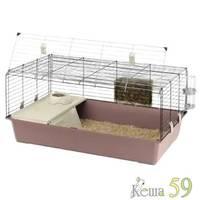 Клетка RABBIT 100 NEW для кроликов (цветная)