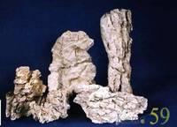 Камень для декора Валун розовый мелкий